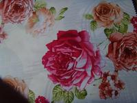 Spring mattress red flower printed woven mattress fabric RLP82400 trade assurance latex mattress in hangzhou