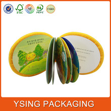shenzhen factory special nature paper sewed stitching binding printing book