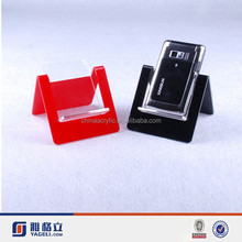 custom acrylic cell phone accessory display stand, acrylic mobile phone display rack