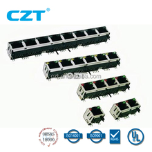 UL approved PCB Modular Jack Connector YH-56-13