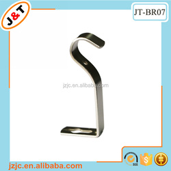 wall mounting metal wrought iron curtain rod bracket