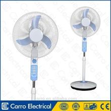 carro eléctrico 16 pulgadas 12v 15w dc ventilador de pedestal