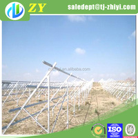 High quality hot dipped galvanized solar panel bracket for 70kw solar power system