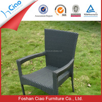 Rattan plastic materials for weaving outdoor chairs for dining used