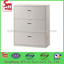Office Furniture 3 Drawers Lateral Filing Cabinet