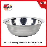 43/48/53/58/63/68cm India Style stainless steel deep basin hot sales wash basin