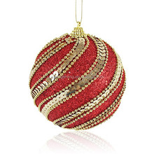 New christmas plastic ball product,christmas plastic ball ornament,high quality christmas foam ball with sequin