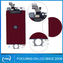 Shenzhen alibaba express cell phone parts for iphone 5 lcd touch screen, cell lcd for iphone 5,lcd display for iphone 5
