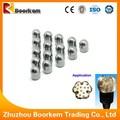 alta calidad boorkem zhuzhou carburo de tungsteno 34mm botón broca para perforación poco barrena