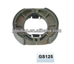 GS125 parts no asbestos brake shoes