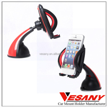 VESANY china manufacturer 2015 NEW products for iPhone easy one touch cell phone car holder