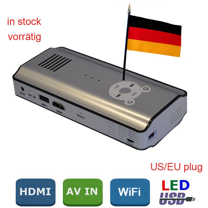 Metal bluetooth led android best selling mini projector for Best android mini projector