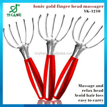 Personal Vibrating Electric ABS Plastic Handy Head Massager Promotion