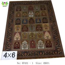 Vendidos China fábrica de seda de malha da China handmade tapetes / tapetes
