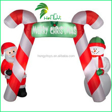 Attractive Popular Outdoor Event Decoration Christmas Inflatable Arch