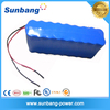 deep cycle rechargeable 3S25P 18650 lithium battery 12v 50ah for led lights