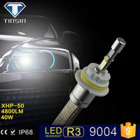 tiansheng new products auto part led light 30W 4800LM IP68 h1 h3 h4 h7 h11 h13 9004 9005 r3 led headlight for chevrolet cruz