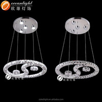 contemporary round Taichi wire cut light decorative crystal pendant lamp,1W LED *36PCS +3W*4PC crystal lamp om99033
