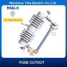 Wenzhou Yika IEC 24KV/100A Type C Standard Cutout Fuse 200A Cutout Switch