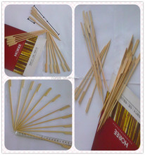 natural bamboo made of Japan skewer/disposable bamboo flag skewers/fruit or meat skewers