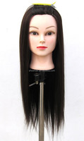 Hot sale Synthetic Hair Doll Head Hairdressing Training Mannequin Table Clamp