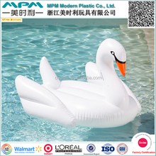 Factory direct supplier direct custom swim pool giant inflatable swan float