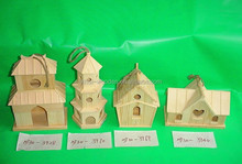 Decorative Bird Cage/Wood Bird Nest/Wooden Bird House