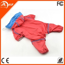 Pet Sport Suit/Waterproof Dog Raincoat/Pet Dog Clothes with Leisure Style