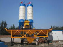 50CBM/h central mix concrete batch plant in good condition