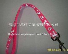 2012 High quality Nylon webbing dog lead strap custom logo