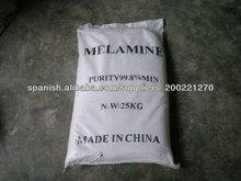 melamina 99.8% polvo blanco