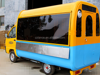 2015 hot sale La-C120 motor tricycle mobile food cart/ three/ four wheels snack cart