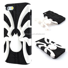 Fashion spider phone case pc tpu hybrid cell case cover for iphone 5