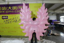 costomized new style carnival costume inflatable angel wings