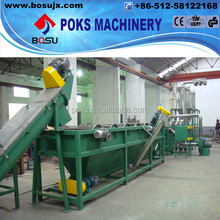 superior quality plastic film recycling and cleaning line