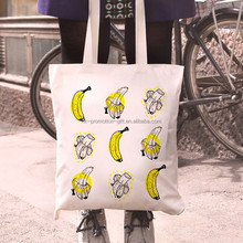 Chinese bag manufacturer supplier simple cotton canvas handbags for shopping