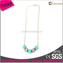 Excellent Manufacture Long Gold Chains For Women Ball Necklace