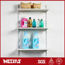 Container DIY organize laundry wall wooden shelf kits