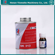 vulcanizing rubber adhesive together use with strip