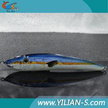 2016 new lure 3D eyes 5.7inch 79g longline fishing gear , fishing sinkers lead lure for fishing