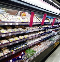 produce/fruit and vegetable display wall case
