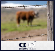 Fram horse and cattle fence protection barbed wire