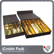 new customized luxury chocolate box with insert
