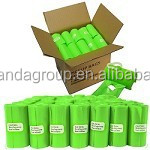 wd1584 1000 Green Dog Pet Poop Bags Refill Rolls, 9 x 12 with Patented Dispenser