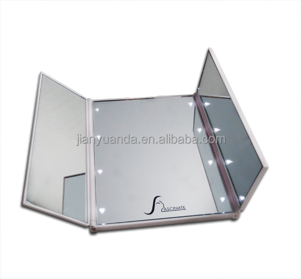 pliable 3 c t s maquillage miroir avec led light led. Black Bedroom Furniture Sets. Home Design Ideas