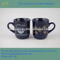 cor do esmalte caneca de café cerâmica