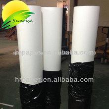120 gsm de alta carga de tinta de la sublimación de papel para la impresión de telas