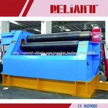 4 Rodillo máquina dobladora, NC máquina de laminación hidráulica