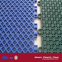 ping-pong court pp interlocking plastic floor tiles