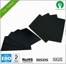 Coated black card board/ Black board paper for photo album